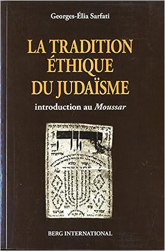Livre gratuits La tradition éthique du judaïsme pdf