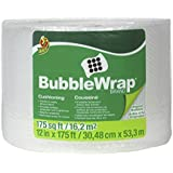 "Duck Brand Bubble Wrap Roll, 3/16"" Original Bubble Cushioning, 12"" x 175', Perforated Every 12"" (1053440)"