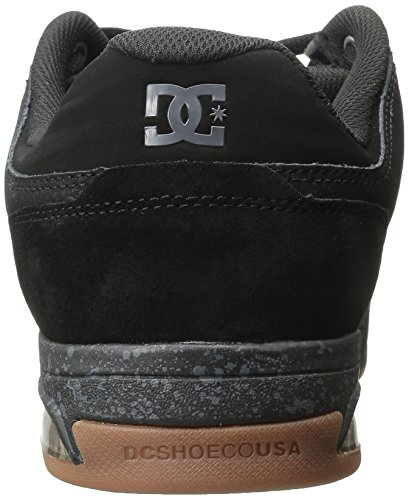DC Shoes Men's Rival Low Top Shoes Black (blk)