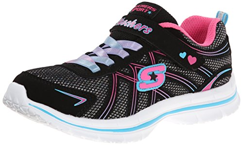Sugar Pink Footwear (Skechers Kids 81305L Sugar Stacks Athletic Sneaker)