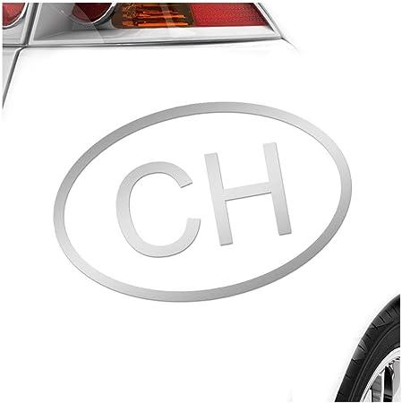 Kiwistar Schweiz Ch In 15 Farben Neon Chrom Sticker Aufkleber Auto