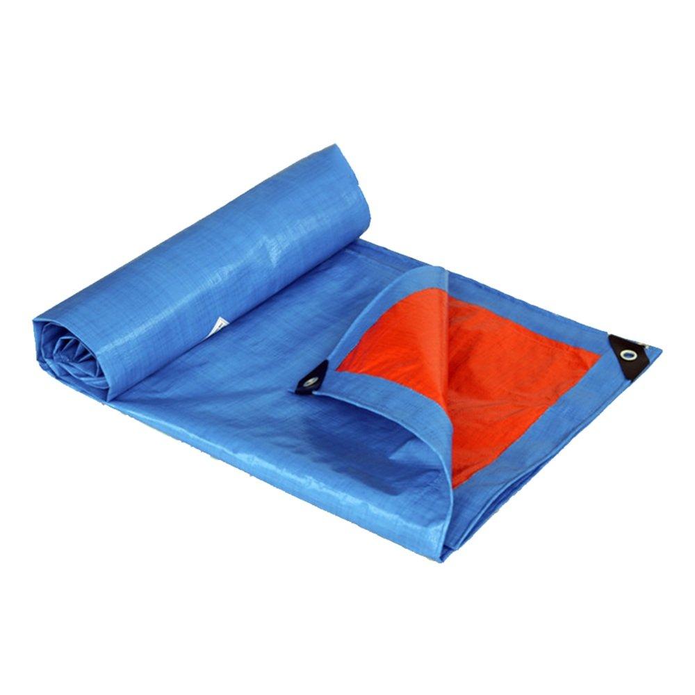 QX pengbu IAIZI Plane-blaues Sonnenschutzmittel-Planen-Linoleum, Das internen und externen Wasserdichten im Freienlastwagen-Antikorrosions-Antialtern-Plastik weich wäscht