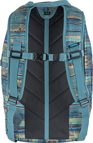 Blue cm 2018 Azul 50 27 Frequency Azul Casual Frequency Nitro liters Snowboards Daypack Blue TxqwF8S6