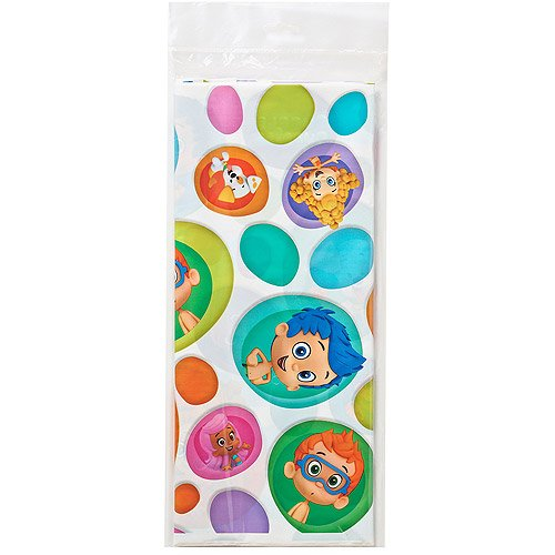 Bubble Guppies Tablecover Party Supplies 1 Ct ()
