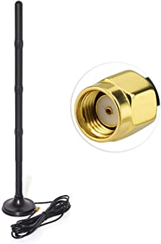 10 x WiFi 2.4GHz 9dBi RP-SMA Antenna for WiFi Router Booster Extender IP Camera