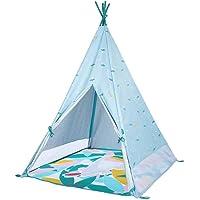 Badabulle Tipi inomhus eller utomhus | Tepee | Teepee tält, UPF 50+ UV-skydd