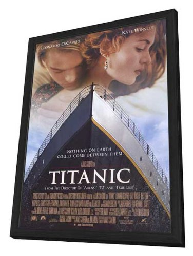 Amazon Titanic 27 X 40 Framed Movie Poster Posters Prints