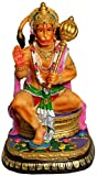 "Krishna Culture Hanuman Blessing 8.5"" Statue Hindu Monkey Warrior Ramayana Hero Golu Doll"