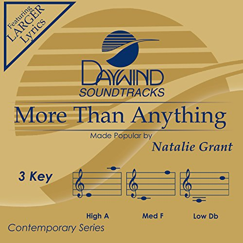 More Than Anything [Accompaniment/Performance Track] by Daywind