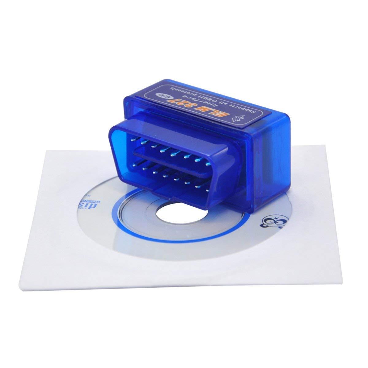Super Mini BT ELM327 V2.1 Bluetooth OBD2 Scanner Car Scan Auto Diagnostic Tool