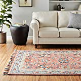 Loloi Rugs, Zharah Collection - Rose / Denim Area