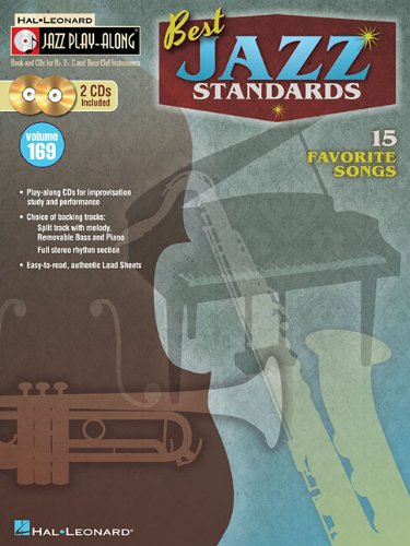 Best Jazz Standards: Jazz Play-Along Volume 169 (BookCD)