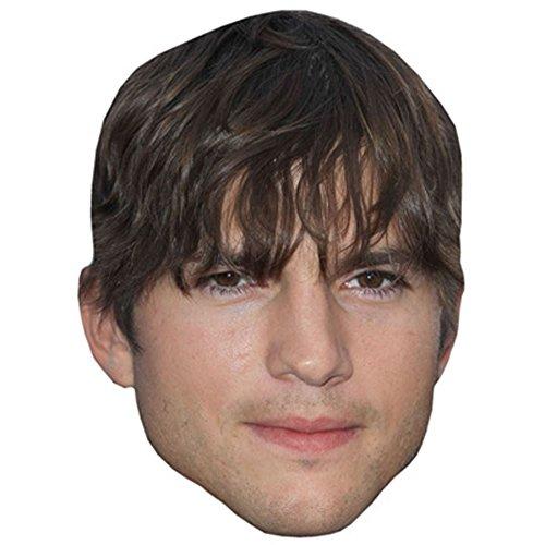 Ashton Kutcher Celebrity Mask, Card Face and Fancy Dress (70s Vegas Costumes)