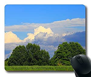 View By The Lake Mouse Pad Desktop Laptop Mousepads Comfortable Office Mouse Pad Mat Cute Gaming Mouse Pad