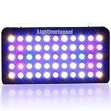 LED Aquarium Light, Lightimetunnel 165 Watt Dimmable Fish Tank Light Full Spectrum for Coral Reef Freshwater and Saltwater Marine Tanks