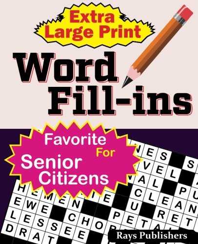 Read Online Extra Large Print WORD FILL-ins (Volume 1) pdf