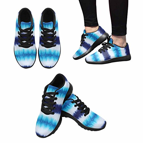 Interesse Per Le Donne Jogging Running Sneaker Leggero Go Easy Walking Comfort Sport Scarpe Da Corsa Abstract Striped Tie Tinto Modello Multi 1