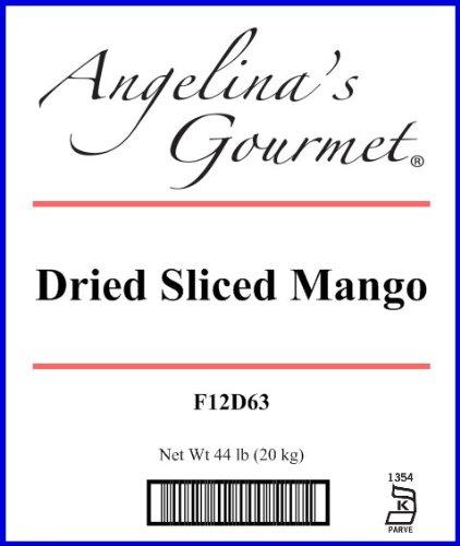Mango, Sliced - 44 Lb Bag / Box Each(Dried) by Woodland Ingredients