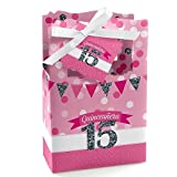 Best Big Dot of Happiness Birthday Gifts For One Year Olds - Big Dot of Happiness Quinceanera Pink - Sweet Review