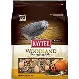 Kaytee Foraging Woodland Grey/Parrot Diet, 4-Pound, My Pet Supplies
