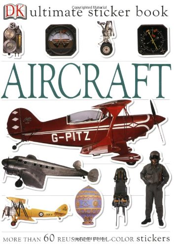 Ultimate Sticker Book: Aircraft (Ultimate Sticker Books) by DK CHILDREN (Image #1)