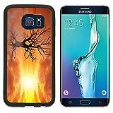 MSD Premium Samsung Galaxy S6 Edge Aluminum Backplate Bumper Snap Case Dreamland fairytale landscape digital art IMAGE 35141188