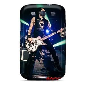 Samsung Galaxy S3 CCR6379QaLM Customized Realistic Black Veil Brides Band BVB Pattern Scratch Resistant Hard Phone Case -TammyCullen