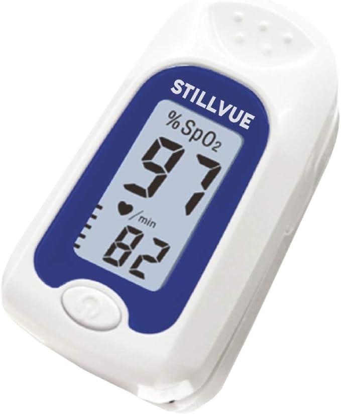 StillVue - Oxygen Monitor Fingertip | O2 Saturation Monitor