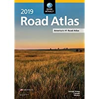 2019 Rand McNally Road Atlas Paperback