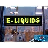 E Liquids LED Light Up Sign