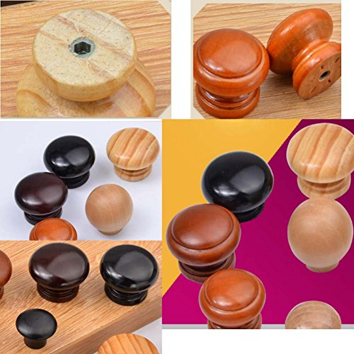 Alien Storehouse 10-Pack Wood Cabinet Dresser Knobs Furniture Drawer Handles - 01 by Alien Storehouse (Image #1)
