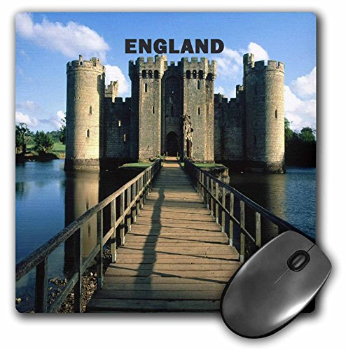 3dRose LLC 8 x 8 x 0.25 Inches Mouse Pad, Picture of Bodiam Castle England (mp_60689_1)
