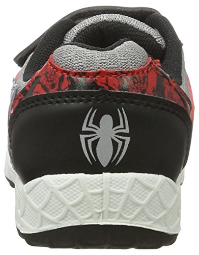 Spiderman Sp003530 - Zapatilla Baja Niños Grau (RED/E.L.Grey/Black 667)