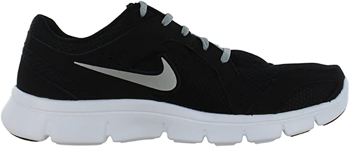 Nike Flex Experience Run 2 Negro/Gris Zapatillas de Running para Mujer, Negro (Black/Metallic Silver-Wolf Grey-White), 5 B(M) US: Amazon.es: Zapatos y complementos