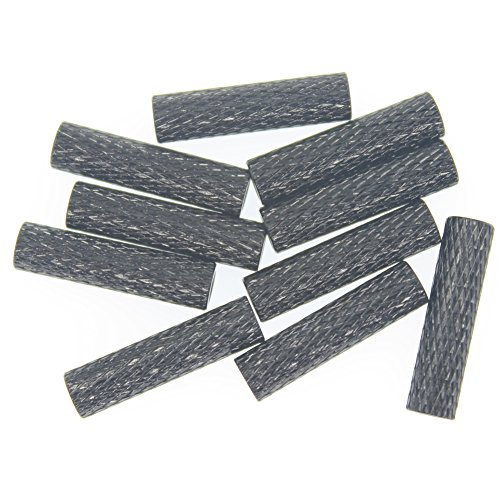 10PCS HobbyPark Aluminum M3x20mm Standoff Spacer Female-Female Round Column RC FPV Drone Parts Black