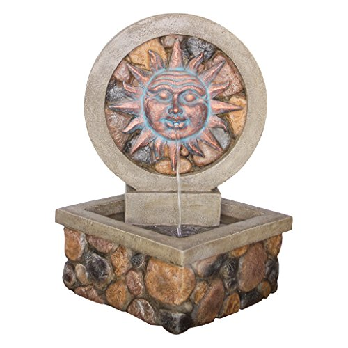 Design Toscano Chapoteo Del Sol Sculptural Fountain
