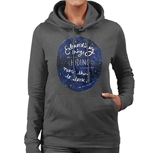Jodi Picoult Quote My Sisters Keeper Extraordinary Things Women's Hooded Sweatshirt