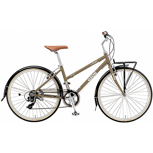 GIOS(ジオス) クロスバイク LIEBE BROWN 26インチ B076BKFML3