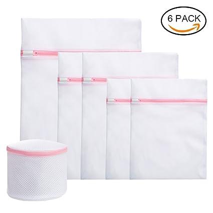 Bolsas de lavandería de malla, bolsas de almacenamiento de malla,Bolsas para con Cremallera