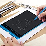 INTEY LCD Writing Tablet Drawing Board Doodle Pad for Kids and Office, 8.5 Inch, Blue