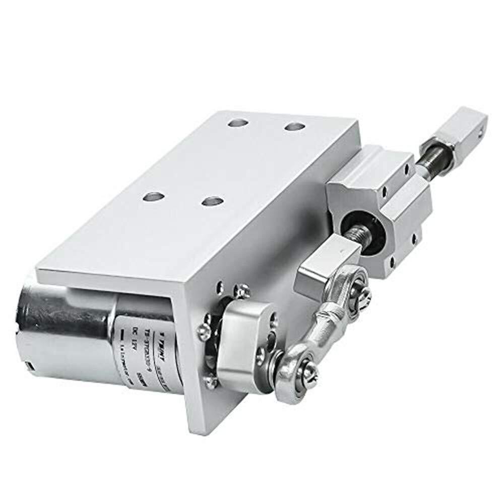 100 attuatore a movimento lineare CC 12V 24V 12 Volt 20mm ciclismo Motore alternativo elettrico 16mm 100 RPM con perno da 12mm