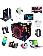 Mystery Box Electronics, Birthday Surprise Box, Lucky Box for Adultos Surprise Gift, como Drones, Smart Relógios, Gamepads e Mais, Super Costeffective, 1 Random