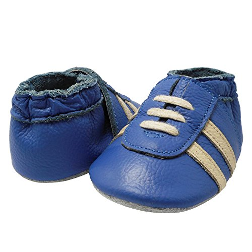 Pictures of YIHAKIDS Baby Sneaker Genuine Leather Soft Suede 5