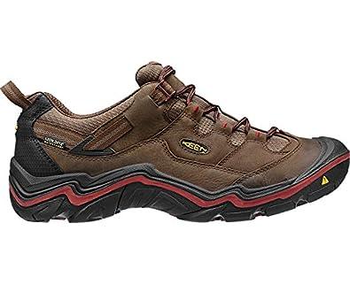 Excellent Men Keen Durand Low WP Walking Shoes SS15 Brown - G8L86H5228