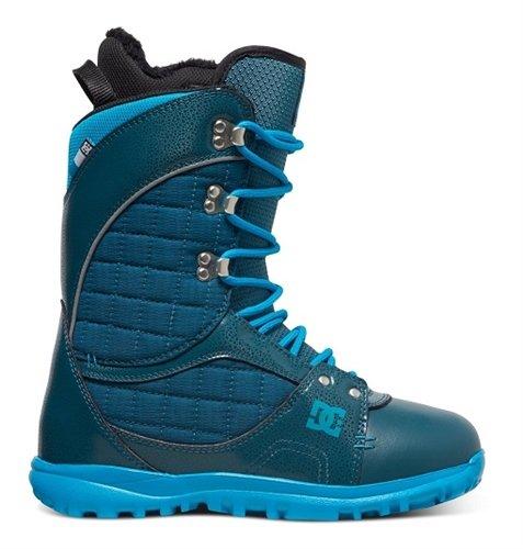 DC Karma Snowboard Boots, Deep Teal, Size 6