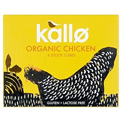 Kallo Organic Chicken Stock Cubes - 6 x 11g