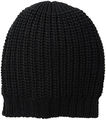 San Diego Hat Company Women's Crochet Knit Rosette Headband with Button Closure, black, One Size