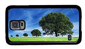 Hipster Samsung Galaxy S5 Case most protective fantasy summer scenery PC Black for Samsung S5