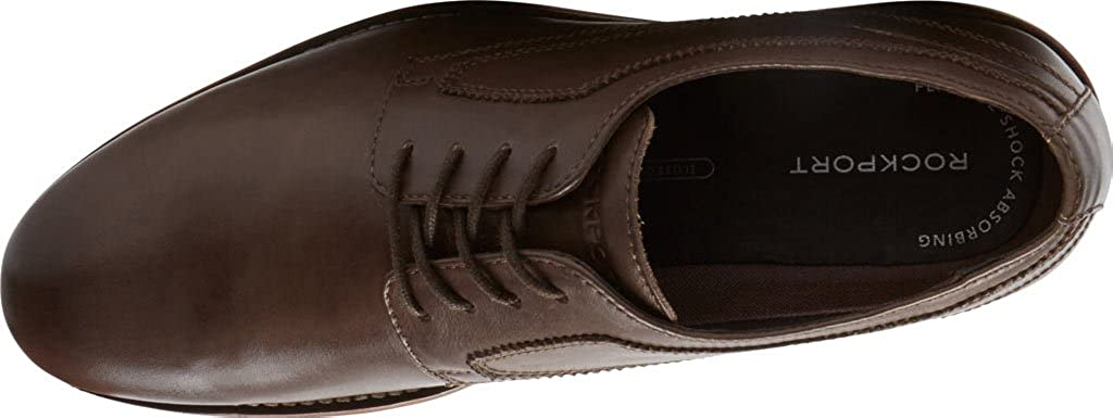 Wyat Plain Toe Oxford, Coffee Leather