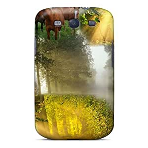 For Galaxy Case, High Quality American Country Dawn For Galaxy S3 Cover Cases